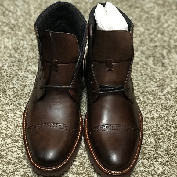 johnston & murphy karnes cap toe boot